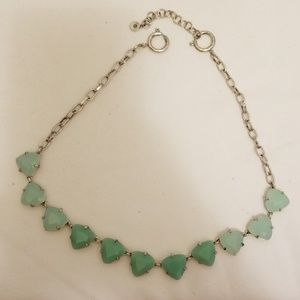 Stella & Dot aqua necklace